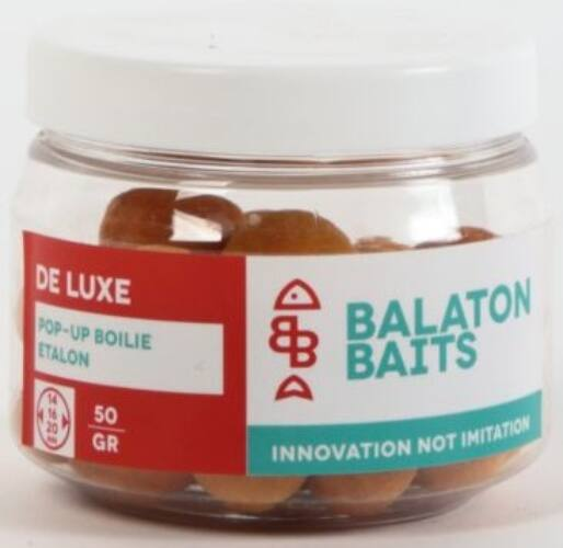 Balaton Baits Deluxe Pop-up csalizó bojli 16 mm 30 g - Etalon
