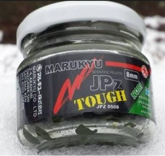 Marukyu JPZ Tough Nori jelly pellet 50 g  8mm zöld