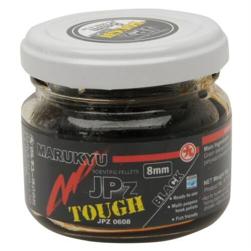 Marukyu JPZ Tough Black jelly pellet 50 g 8 mm