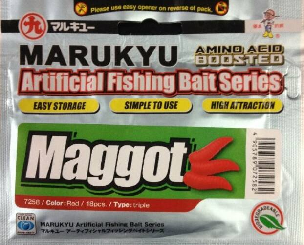 Marukyu Maggot Triple red 18db/csg