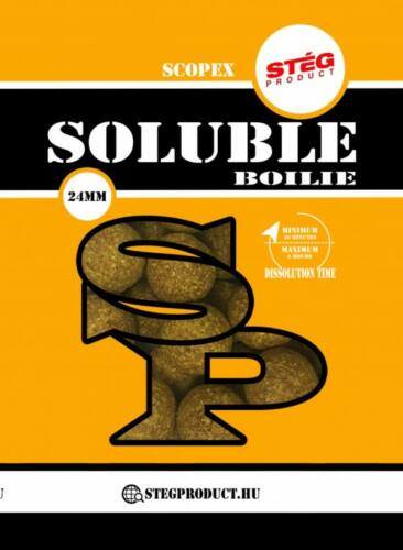 STÉG PRODUCT SOLUBLE BOILIE 24 MM SCOPEX 1 KG-1