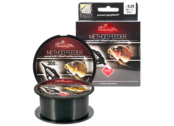 ZSINÓR CARP EXPERT METHOD FEEDER TEFLON 300m 0.20mm-2