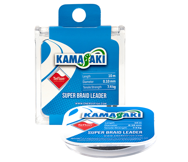 KAMASAKI SUPER BRAID LEADER 10M 0.25MM 20,7KG-2