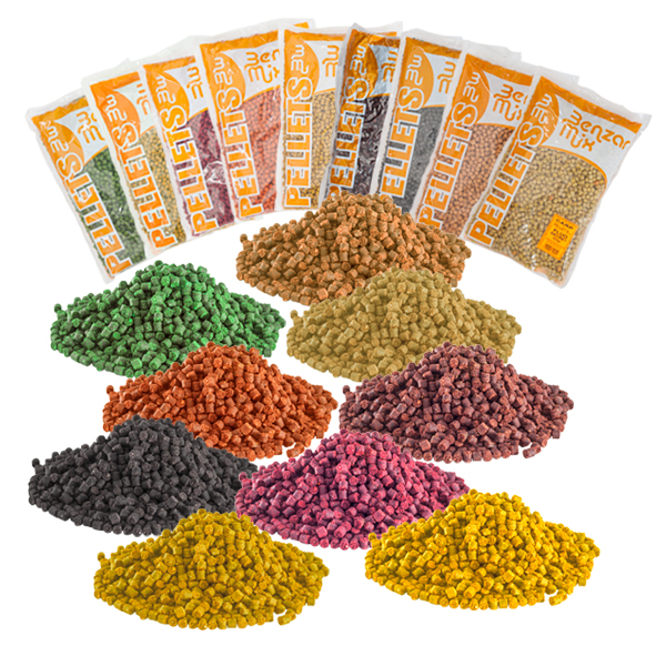 BENZAR MIX PELLET 6MM ANANÁSZ-2