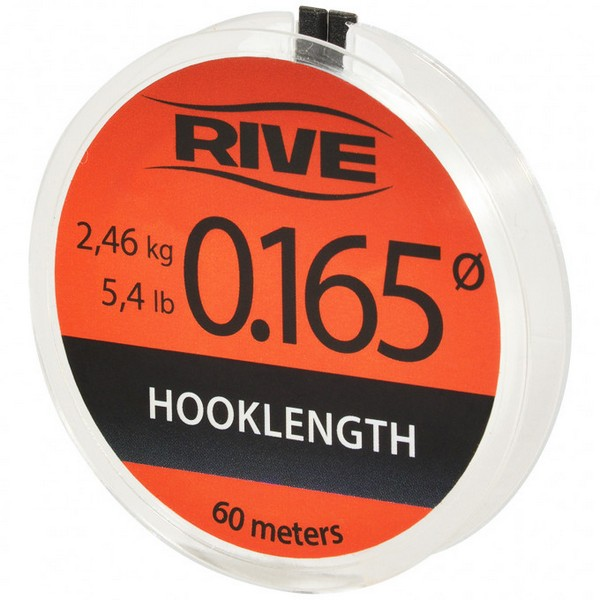 RIVE HOOK LINK LINE DIAM.0.080 60 M TRANSPARENT-2