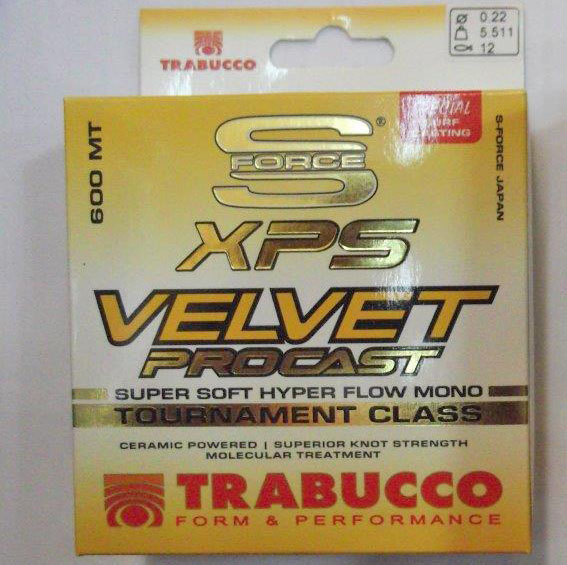 TRABUCCO S FORCE XPS VELVET PRO CAST 600M 0,30MM