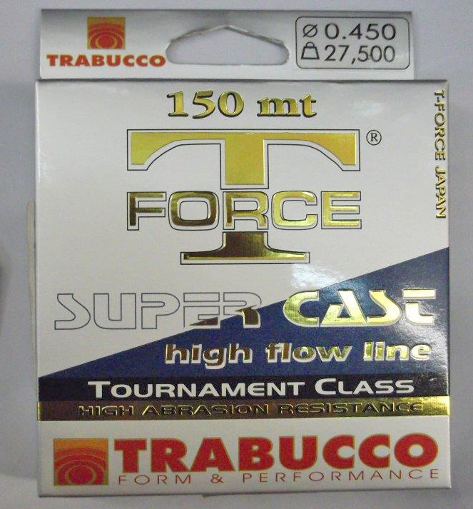 Trabucco T-Force Super Cast 150m 0,30, damil