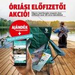 Sikeres Sporthorgász éves előfizetés ajándék horgászszékkel + Fishinda APP prémium funkciók