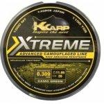 K-KARP eXTReme CAMO WEED 1000m-0,30mm zsinór