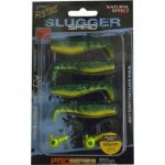 Rapture SLUGGER SHAD SET 55 Yellow & Blue 4+2db/csg, műcsali szett