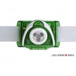 LEDLENSER SEO3 3xAAA 100 lm fejlámpa zöld 6103