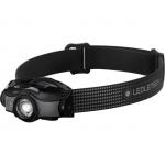 LEDLENSER MH5 outdoor tölthető LED fejlámpa 400lm/180m 1x14500 Li-ion, fekete/szürke