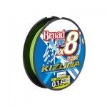 Owner Kizuna 8x lime zöld 135m 0,21mm fonott zsinór
