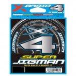 YGK Super Jigman X4 200m #1.2 20lb fonott zsinór