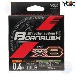 YGK Bornrush WX8 200m #0.8 18lb fonott zsinór