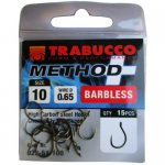 Trabucco Method Plus Feeder szakáll nélküli horog 12-es , 15 db/csg