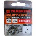 Trabucco Match Specialist szakáll nélküli horog 12-es , 15 db/csg