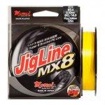 Momoi Jigline MX8 PE 0,10 / 125m fluo sárga