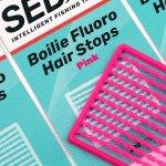 SEDO Boilie Fluoro Hair Stops - Flouro Narancs