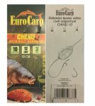 EuroCarp előkötött feeder előke csaliszigonnyal Chinu-10 10cm 12lbs