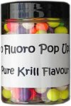 Bag em Micro Fluoro Pop Up Boilies Krill 100ml