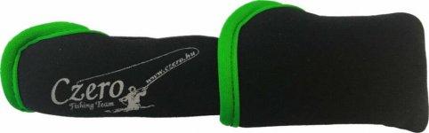 Czero állítható szivacsos botvédő kupak L, Zöld