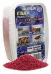 Haldorádó Fluo micro method feed pellet 400g Vörös Gyümölcs