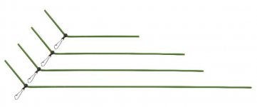 Gubancgátló cső 30 cm 10 db-os