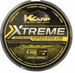 K-KARP eXTReme CAMO WEED 1000m-0,35mm zsinór