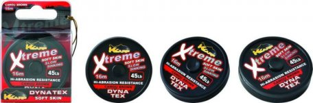 K-KARP DT XTREME SOFT 16m CAMO BROWN 25lb, előkezsinór