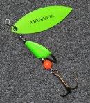 Manyfik Mobby V Color Vk08-3 5g körforgó villantó