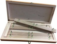 Niedermayer fa előketartó, method, 5 kivehető pálca, 20 előke, 10 cm