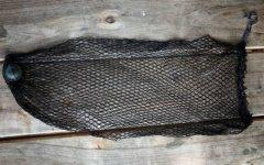 Óriás zsákos haltartó 100 cm