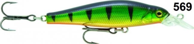 RAPTURE BOKKAI MINNOW SUSPENDING WOBBLER P 65mm 7,5g