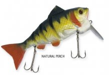 RAPTURE DANCER PERCH WOBBLER NATURAL PERCH 12cm 34g