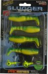 Rapture SLUGGER SHAD SET 75 Yellow / Blue 4+2db/csg, műcsali szett