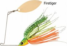 RAPTURE SHARP SPIN SINGLE WILLOW 14 g FIRETIGER