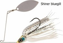 RAPTURE SHARP SPIN SINGLE WILLOW 14 g SHINER BLUEGILL