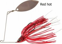 RAPTURE SHARP SPIN SINGLE WILLOW 7 g RED HOT
