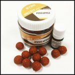 STÉG PRODUCT SOLUBLE BOILIE + FLAVOR 16 MM PINEAPPLE 90 G + 5 ML
