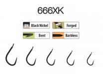 Trabucco XPS hooks 666XK 10 25 db/csg, szakáll nélküli horog