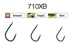 Trabucco XPS hooks 710XB 18 25 db/csg, horog