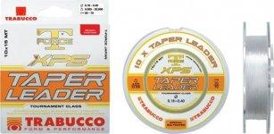Trabucco T-Force Xps Taper Leader 10 15m 020-057, damil