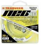 Trabucco Dyna-Tex Neo X8 Yellow fonott zsinór 150m 0,100