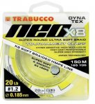 Trabucco Dyna-Tex Neo X8 Yellow fonott zsinór 150m 0,165