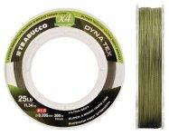 Trabucco DYNA-TEX X4 POWER MOSS GREEN 300m 0.285, fonott zsinór