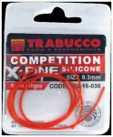 TRABUCCO COMP. X-FINE SILICONE 0.6mm-50cm, szilikon cső