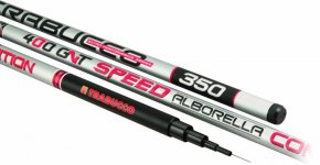 Trabucco GNT COMP.Speed Alborella 400 fishing rod + spare part