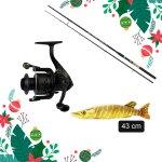KARÁCSONYI BIG FISH 40-80 SZETT + CSUKA BABY PÁRNA