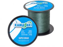 KAMASAKI SUPER BRAID 1000M 0,15MM